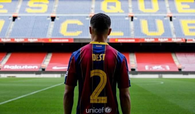 اولى تصريحات ديست بعد الانتقال الى برشلونة