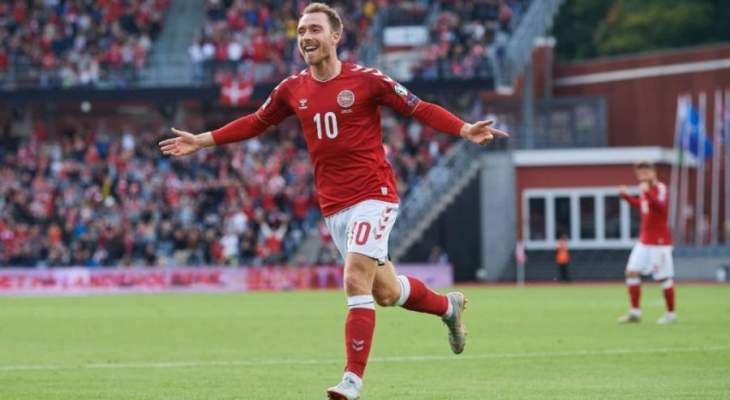 الدانمارك تفتتح مشوارها في دوري الأمم بفوز مريح.
