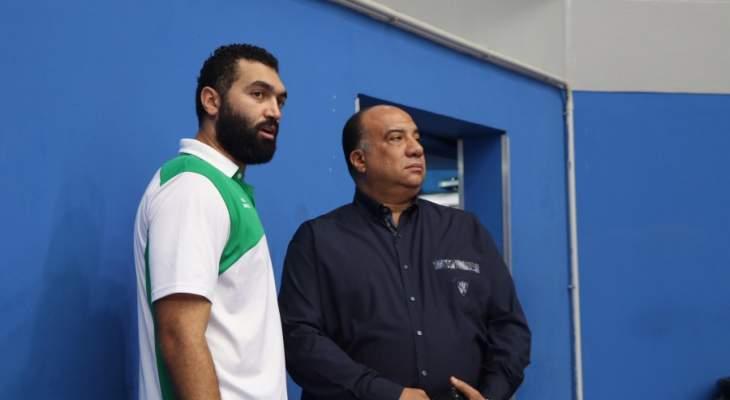 محمد صلحي يتحدث لصحيفة السبورت قبل انطلاق مباراة الاتحاد السكندي وسلا