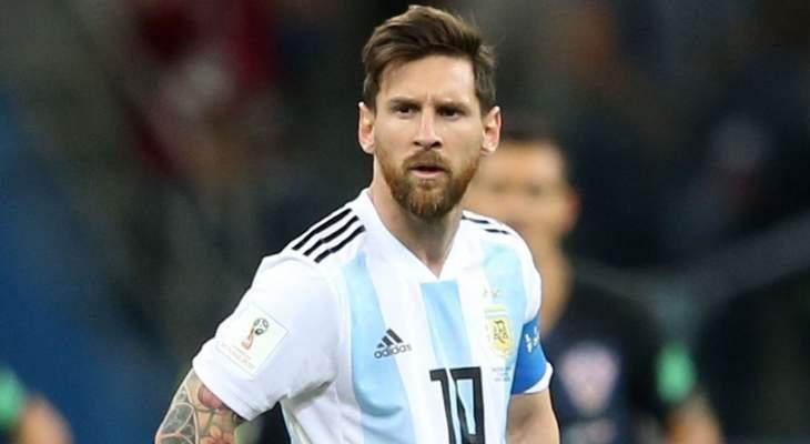 ميسي غاضب من ضمه للمنتخب الأرجنتيني