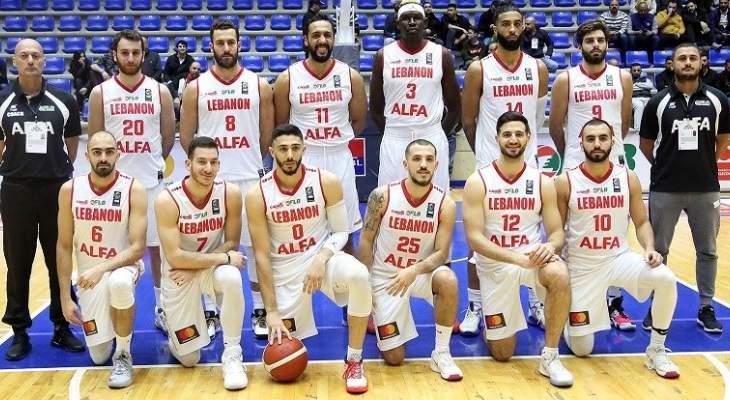 منتخب السلة يستعد للنافذة الثانية من تصفيات كأس آسيا