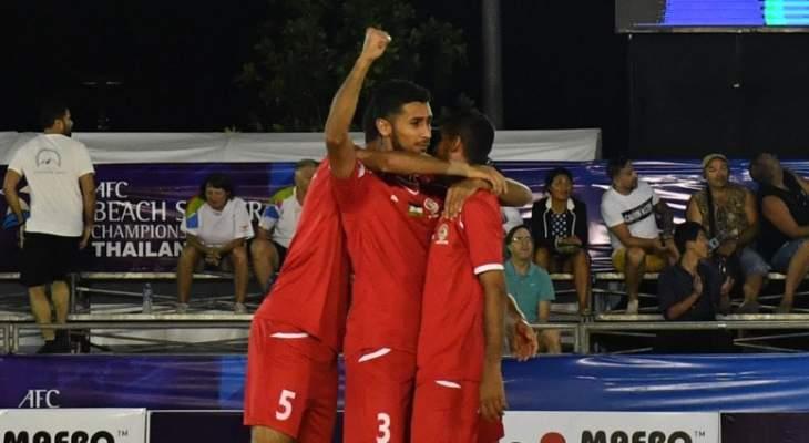 مدرب فلسطين : سعيد بالفوز الصعب على ماليزيا