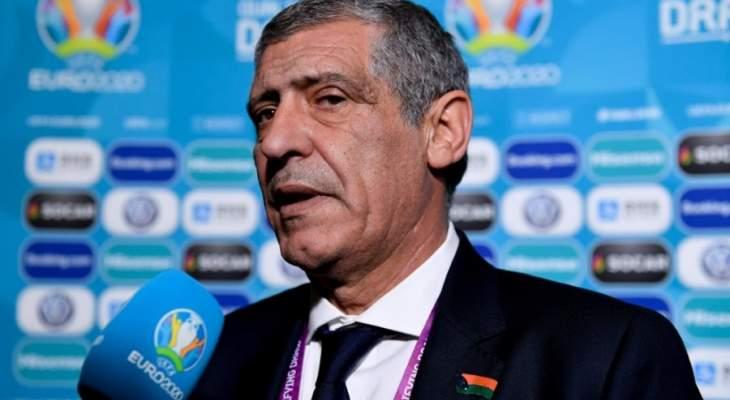 مدرب البرتغال فرناندو سانتوس: مجموعتنا صعبة