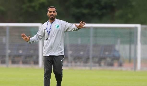 مدرب السعودي الشاب يشيد بلاعبيه رغم الخروج من المونديال