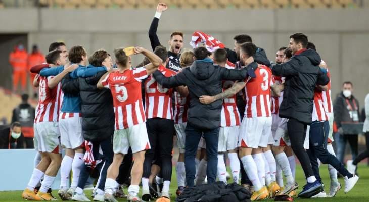 كأس السوبر الإسباني: أتلتيك بلباو يفوز على برشلونة ويحرز اللقب