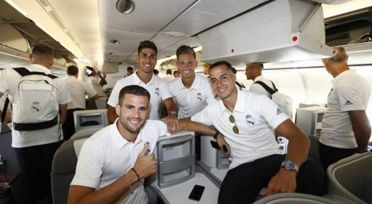 ريال مدريد من دون فاران ومودريش الى الولايات المتحدة الاميركية