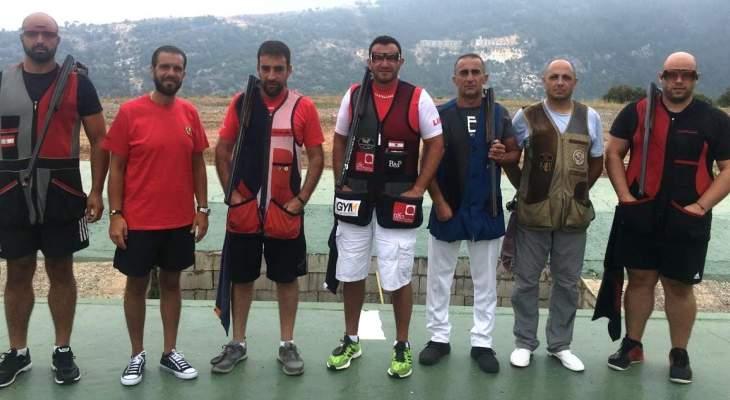 رماية: ايلي بجاني بطل المرحلة الخامسة من بطولة لبنان للتراب الفئة(أ) ممتاز