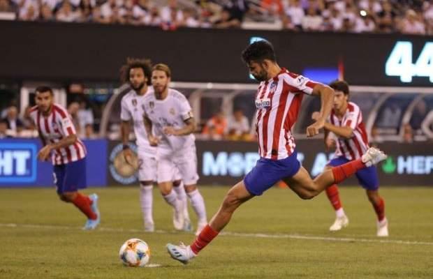 احصاءات من مباراة اتلتيكو وريال مدريد في كاس الابطال