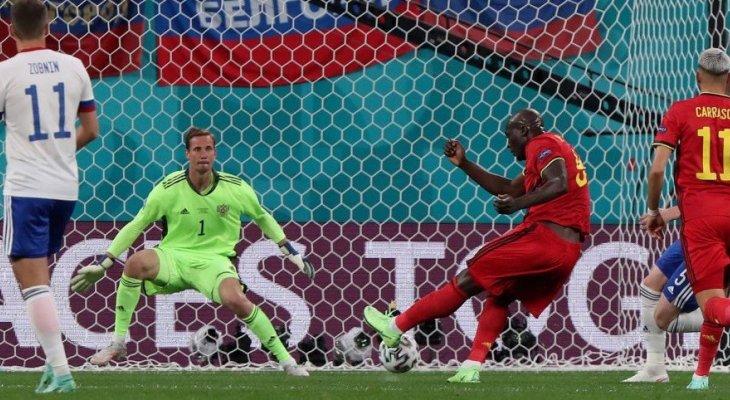 يورو 2020 : ابرز احصاءات مباراة بلجيكا وروسيا