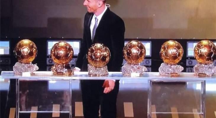 برشلونة يقدم التهنئة لميسي: هو فقط للأبد سادس كرة ذهبية ليو