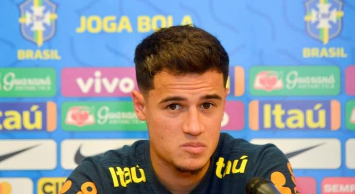 كوتينيو يعترف بموسمه المخيب مع برشلونة