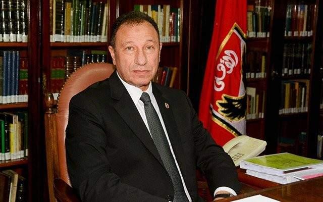 رئيس نادي الاهلي  يهنئ فريق الكرة الطائرة على لقب البطولة العربية