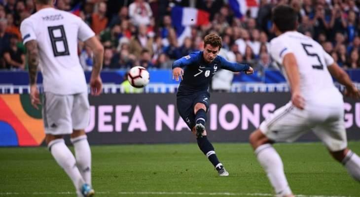 تقييم اداء لاعبي المنتخب الفرنسي والالماني