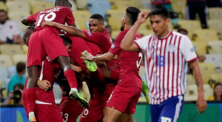 اهداف مباراة قطر والباراغوي في كوبا اميركا