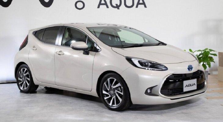 شركة تويوتا تكشف عن سيارة Aqua الجديدة