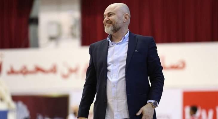 رسالة دعم من ابوشقرا الى لاعبي  المنتخب اللبناني للسلة