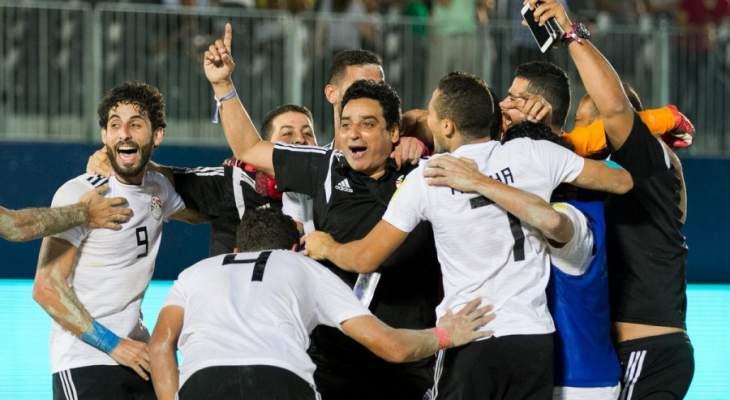كأس القارات للكرة الشاطئية : مصر ايران روسيا والبرازيل الى نصف النهائي