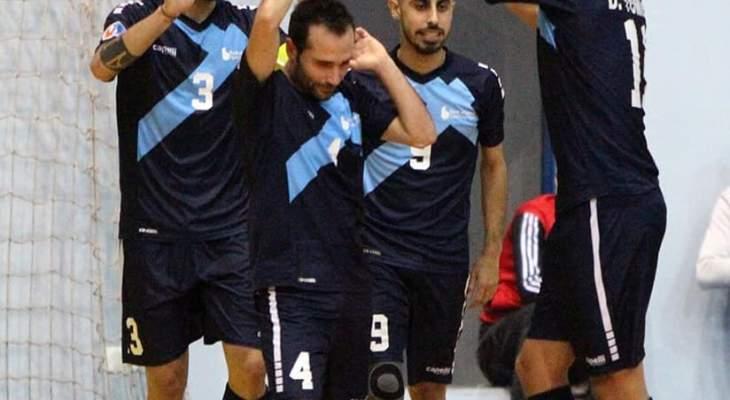 بنك بيروت  يعزز صدارته لبطولة لبنان لكرة الصالات