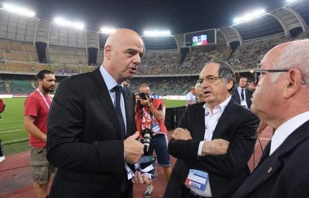 هل سيتواجد رئيس الفيفا في دربي لبنان؟