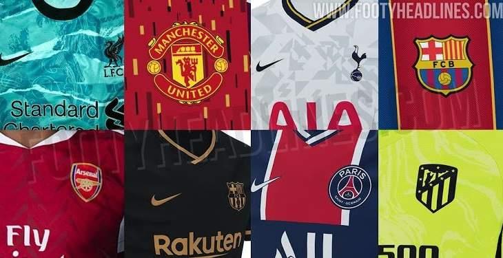 تعرف على قمصان الفرق لموسم 2020/2021