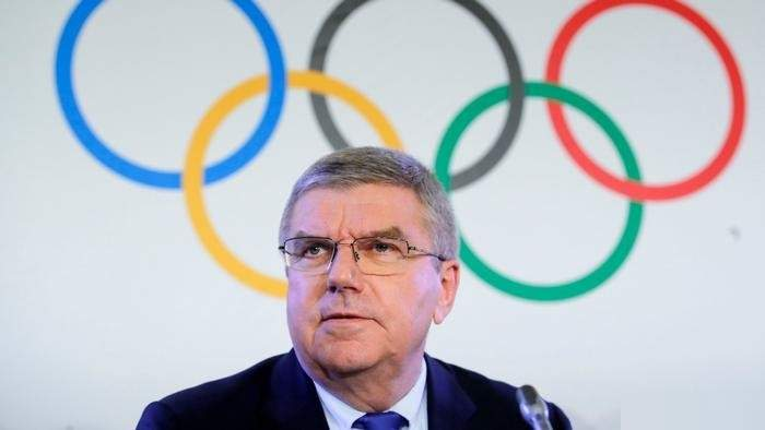 رئيس اللجنة الأولمبية الدولية يوجه رسالة الى الرياضيين