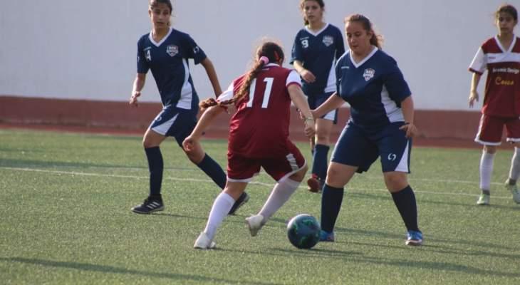 الفوز الرابع تواليا للاخاء في المجموعة الاولى في دوري الناشئات اللبناني