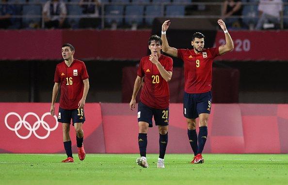 اسبانيا الى نصف نهائي طوكيو 2020 لكرة القدم