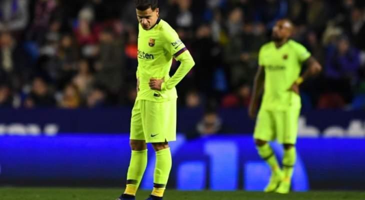 قدوم ويليان يضع كوتينيو خارج برشلونة