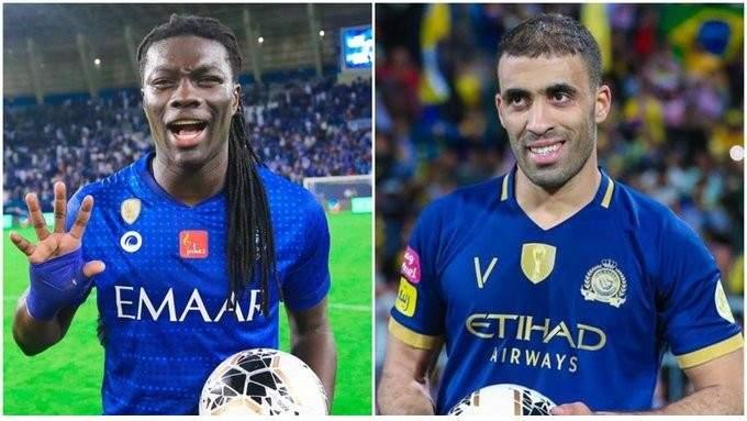 السباق على لقب هداف الدوري السعودي مستمر بين حمد الله وغوميز