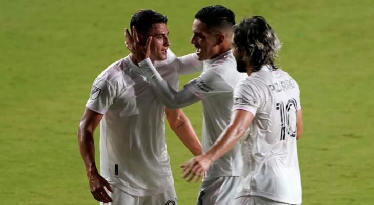 فريق بيكهام انتر ميامي يحقق فوزه الأول في الدوري