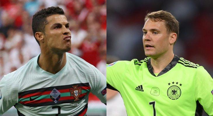 التشكيلة الرسمية لمباراة المانيا والبرتغال