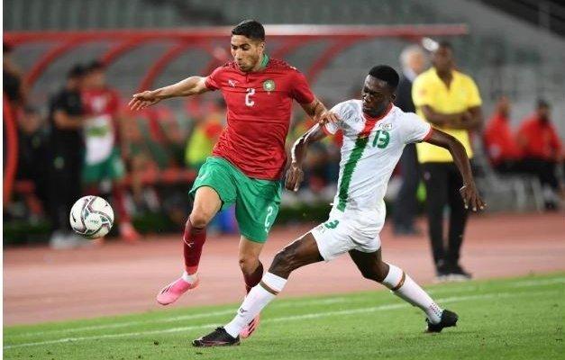 حكيمي يقود المغرب للفوز على بوركينا فاسو وديا ويدعم اريكسن