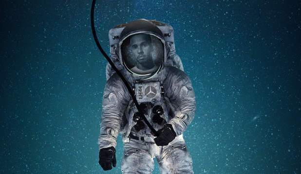 لويس هاميلتون يريد التوجه صوب الفضاء