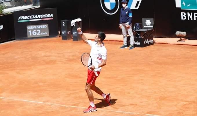 بطولة روما: ديوكوفيتش يواجه سونيغو في نصف النهائي
