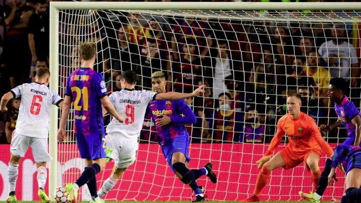 اهم مجريات وإحصاءات من مباراة برشلونة - بايرن ميونيخ