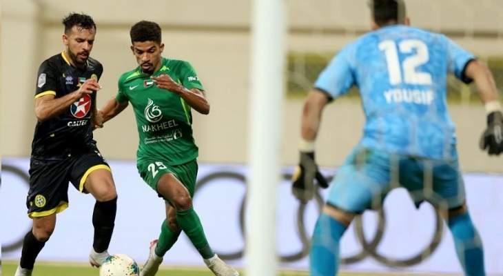 الوحدة وشباب الأهلي يضمنان التأهل لربع نهائي كأس الخليج العربي