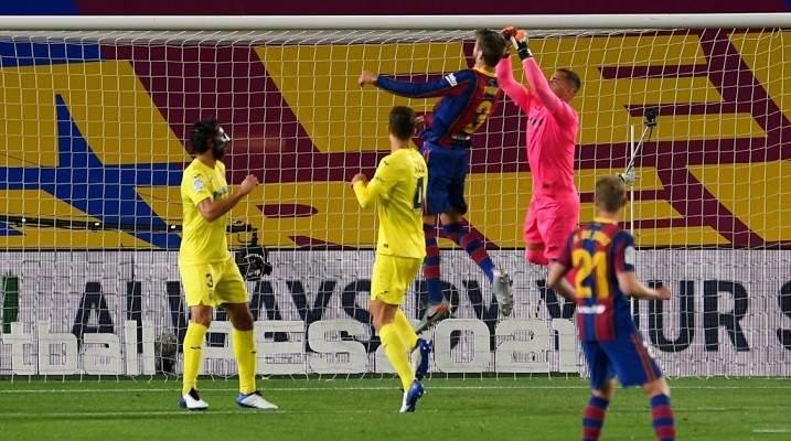 حارس فياريال عاش كابوس مواجهة برشلونة
