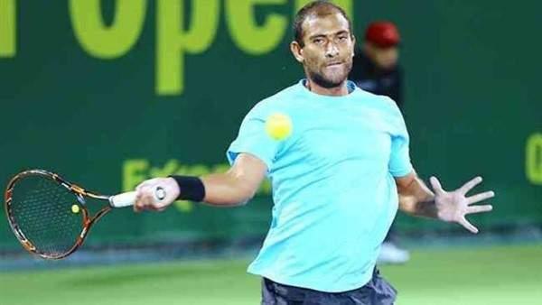 المصري محمد صفوت يعبر الى ربع نهائي بطولة ليون للتنس