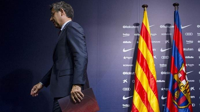 تحرك داخل برشلونة لسحب الثقة من بارتوميو