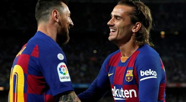 برشلونة ينظر في التخلي عن غريزمان في صفقة لضم نيمار