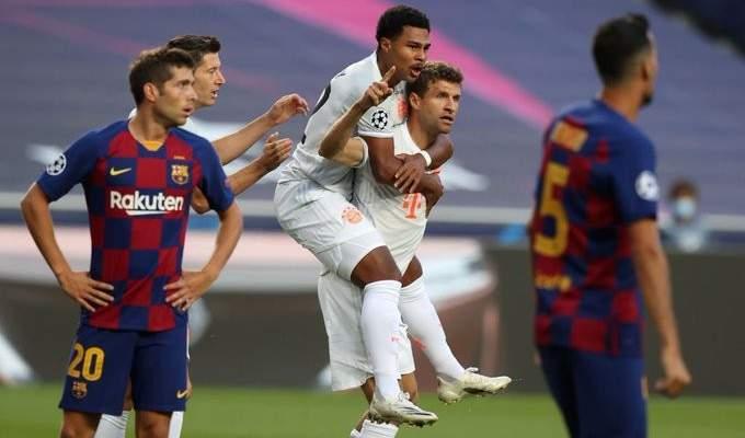 رقم مميز لتوماس مولر امام برشلونة
