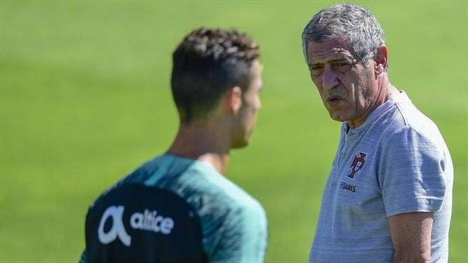 سانتوس: رونالدو في حالة جيّدة ومن المستحيل أن أشكّك به