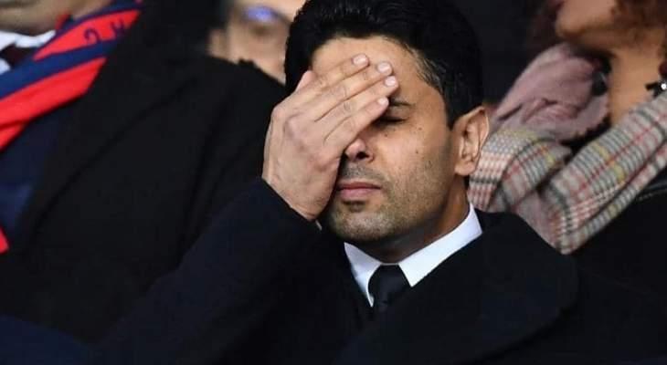 ناصر الخليفي مستاء وغاضب من نجوم باريس سان جيرمان
