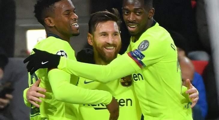برشلونة يحسم الصدارة وتوتنهام يخطف الوصافة من الانتر وفوز بورتو