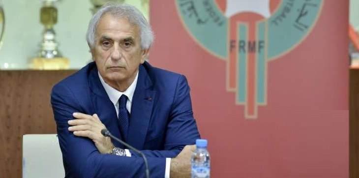 مدرب المغرب خليلوزيتش : سعيد بالأداء والنتيجة امام بوروندي