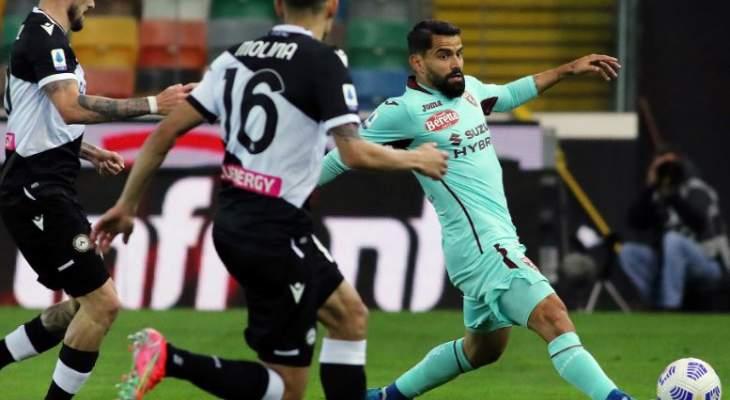 الدوري الإيطالي: تورينو يعود بـ 3 نقاط من ملعب اودينيزي
