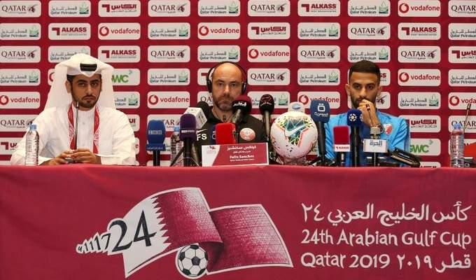 مدرب قطر: اضعنا فرصا كثيرة والدفاع السعودي قدم مباراة كبيرة