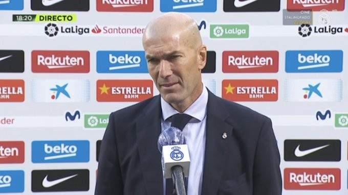 زيدان: علينا أن نستمر بالتحسن ونستمتع بالفوز بعد كل الانتقادات