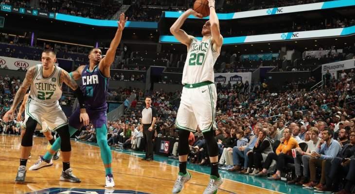 NBA: كليبرز يهزم بليزرز وخسارة هورنتس امام سيلتيكس