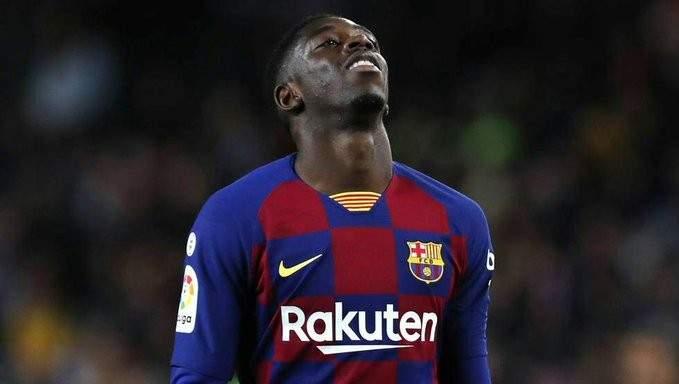 ديمبيلي لا يفكر في الرحيل عن برشلونة